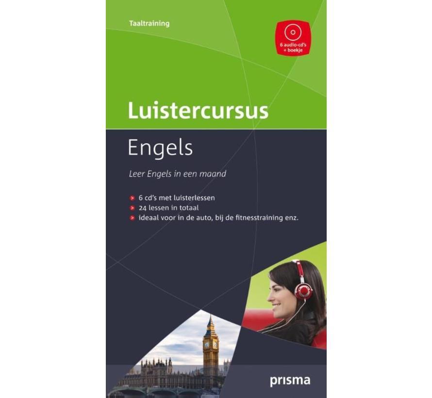 Prisma luistercursus Engels  + 6 Audio CD's