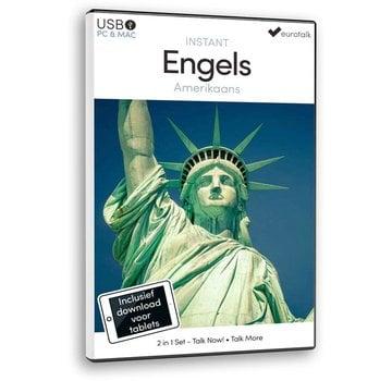 Eurotalk Instant Instant Amerikaans Engels voor Beginners - Taalcursus 2 in 1
