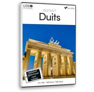 Eurotalk Instant Instant Duits voor Beginners - Taalcursus 2 in 1
