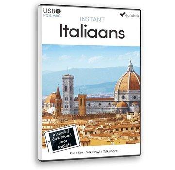 Eurotalk Instant Instant Italiaans voor Beginners - Taalcursus 2 in 1