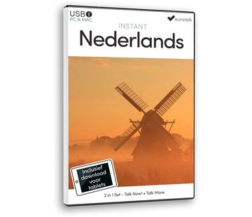 Eurotalk Instant Instant Nederlands voor Beginners - Leer Nederlands voor Anderstaligen