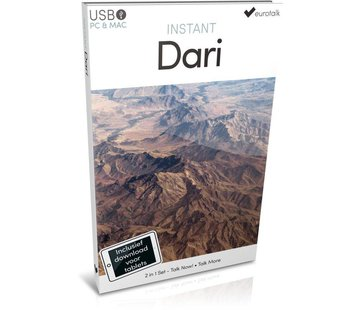 Eurotalk Instant Instant Dari voor Beginners - Taalcursus Dari 2 in 1