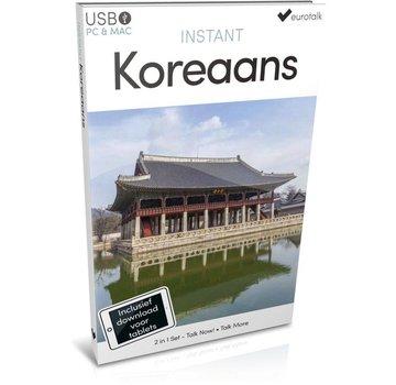 Eurotalk Instant Instant Koreaans leren  - Taalcursus 2 in 1 (USB)