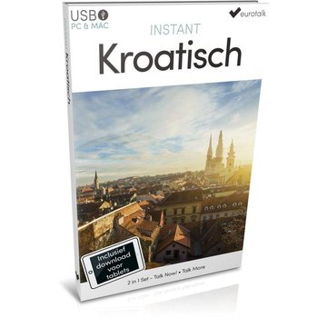 Eurotalk Instant Instant Kroatisch voor Beginners - Taalcursus 2 in 1