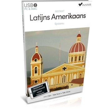 Eurotalk Instant Instant Latijns Amerikaans Spaans voor Beginners | Taalcursus 2 in 1