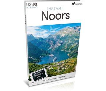 Eurotalk Instant Noors voor Beginners - Leer de Noorse taal (Taalcursus + Download)
