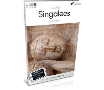 Eurotalk Instant Instant Sinhala  leren voor Beginners - Taalcursus 2 in 1