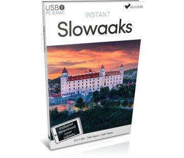 Eurotalk Instant Instant Slowaaks voor Beginners - Taalcursus 2 in 1