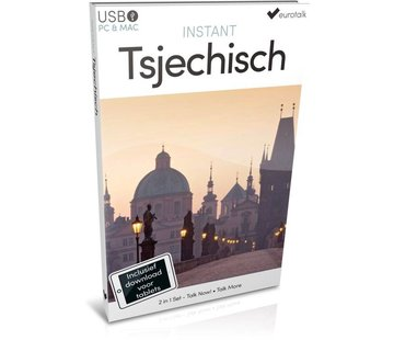 Eurotalk Instant Instant Tsjechisch voor Beginners - Taalcursus 2 in 1