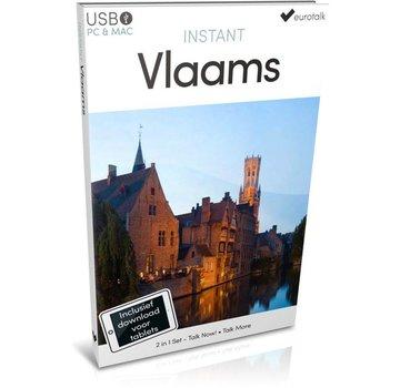 Eurotalk Instant Leer Vlaams voor Beginners - Instant Taalcursus 2 in 1