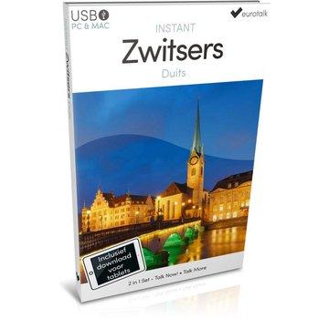Eurotalk Instant Instant Zwitsers-Duits leren  - Taalcursus Zwitsers 2 in 1