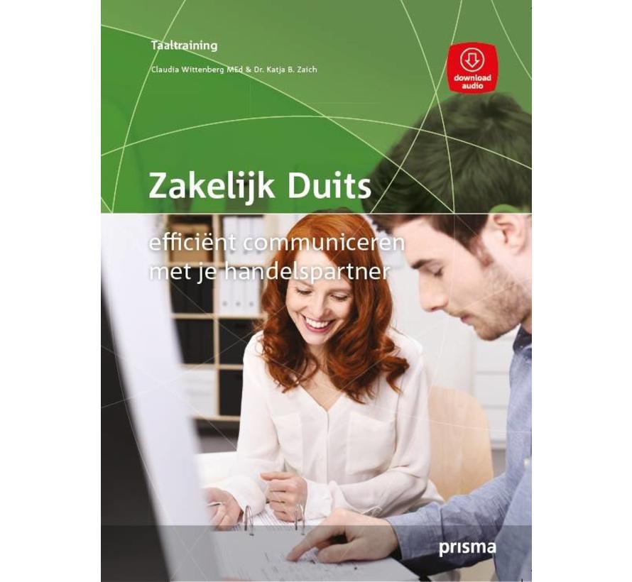 Prisma Zakelijk Duits - Efficient communiceren (Boek + Audio)