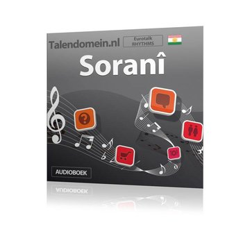 Eurotalk Rhythms Leer Koerdisch (Sorani) voor Beginners  - Audio taalcursus (Download)