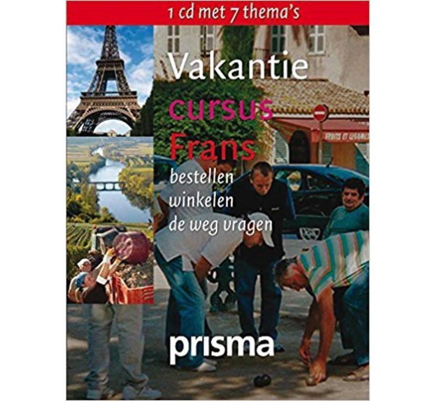 Vakantie cursus Frans - Audio taalcursus (CD)