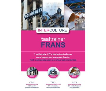 Interculture Interculture Taaltrainer Frans - 3 Audio CDs
