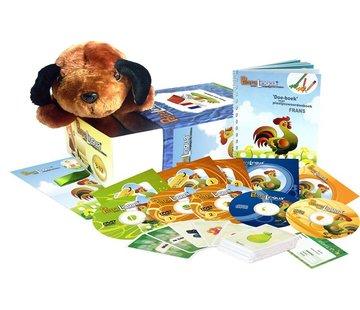 PetraLingua - Taalcursussen voor kinderen Frans voor Kinderen, Peuters en Kleuters - Compleet leerpakket Frans