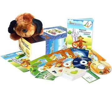 PetraLingua - Taalcursussen voor kinderen Engels leren voor Kinderen - Compleet leerpakket Engels voor kids (Petra.Lingua)