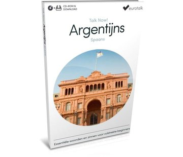 Eurotalk Talk Now Basis cursus Argentijns Spaans voor Beginners (CD + Download)