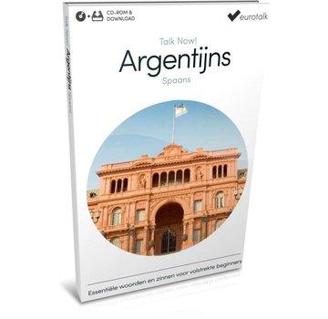 Eurotalk Talk Now Talk Now - Basis cursus Argentijns Spaans voor Beginners