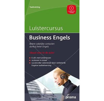 Prisma - Download taalcursussen Luistercursus Business Engels (Download)