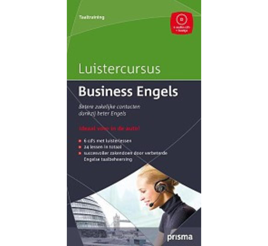 Prisma luistercursus Business  Engels (Download)