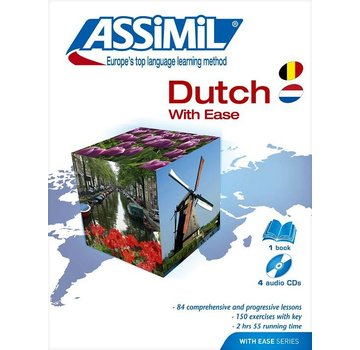 Assimil - Taalcursussen & Leerboeken Learn Dutch with Ease - Book + Audio CD's