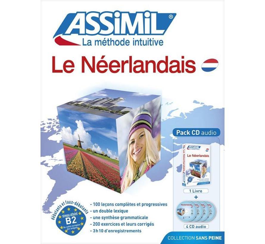 Le Néerlandais Sans Peine - Nederlands leren vanuit Frans (Boek + Audio CD)