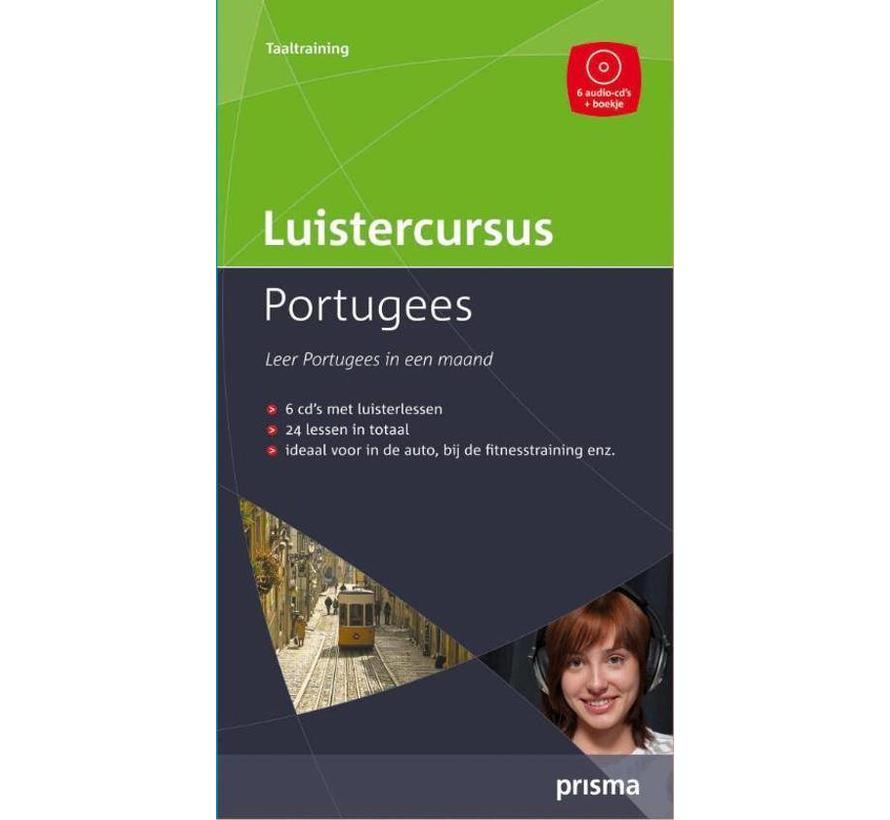Luistercursus Portugees (Audio taalcursus) - Portugees leren binnen een maand