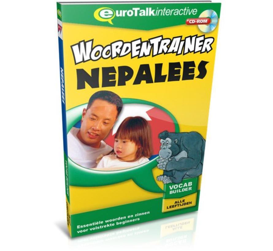 Nepalees voor kinderen - Woordentrainer Nepalees