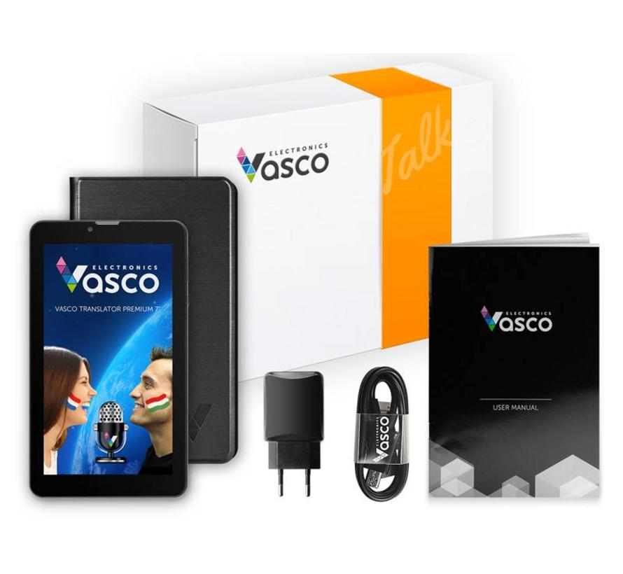 Vasco Translator Premium Sprekende vertaalcomputer 7 inch