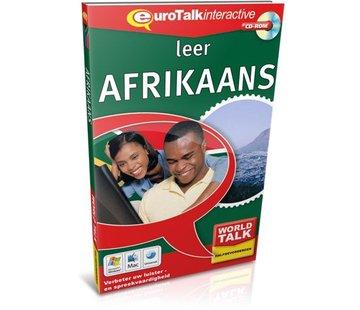 Eurotalk World Talk Leer Afrikaans voor Gevorderden - Cursus world talk Afrikaans