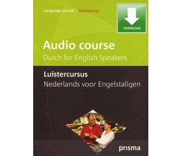 Prisma - Download taalcursussen Prisma Luistercursus Nederlands voor Engelstaligen - Download