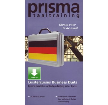 Prisma - Download taalcursussen Luistercursus Zakelijk Duits - Duits leren voor Zaken en Business (Download)
