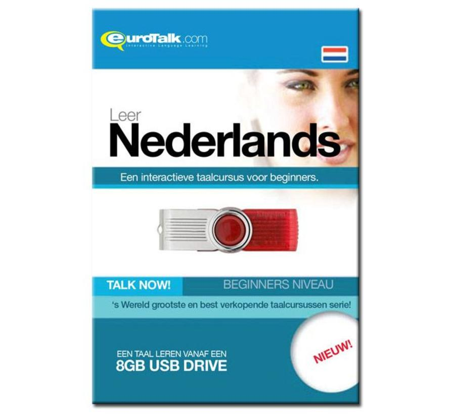 Talk now - Cursus Nederlands voor Beginners (USB)