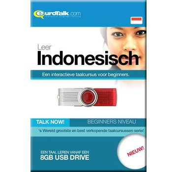 Eurotalk Talk Now Leer Indonesisch - Cursus Indonesisch voor Beginners (USB)