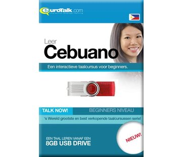 Eurotalk Talk Now Leer Cebuano (Bisaya) voor Beginners (USB)
