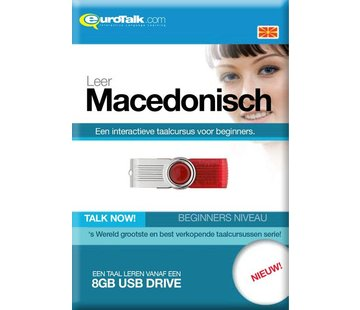 Eurotalk Talk Now Leer de Macedonische taal | Cursus Macedonisch voor Beginners (USB)