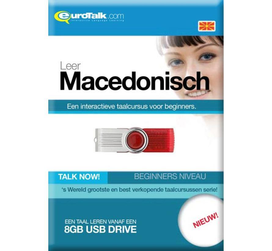 Talk now - Cursus Macedonisch voor Beginners (USB)