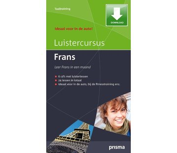Prisma - Download taalcursussen Prisma Luistercursus Frans (Download)