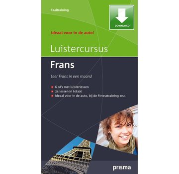 Prisma - Download taalcursussen Prisma Luistercursus Frans (Download)