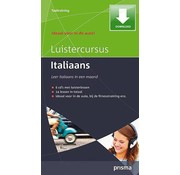 Prisma - Download taalcursussen Luistercursus Italiaans (Download) - Leer Italiaans voor Beginners