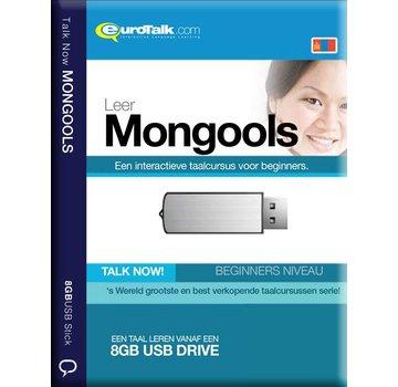 Eurotalk Talk Now Basis cursus Mongools voor Beginners (USB)