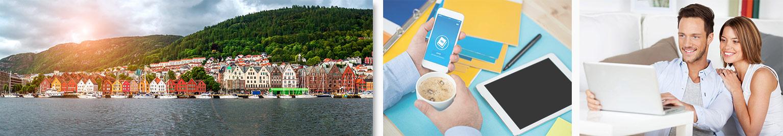 Noorwegen  - Noors leren - Cursussen Online of Zelfstudie