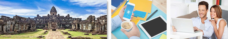 Khmer leren - Cursussen online of Zelfstudie