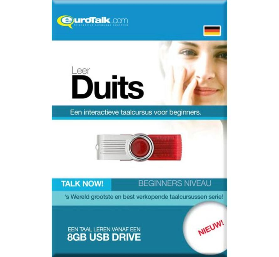 Basis cursus Duits Beginners - Talk now Duits (USB)