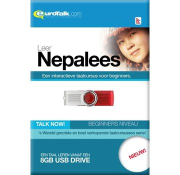 Eurotalk Talk Now Basis cursus Nepalees voor Beginners - Talk now Nepalees Leren (USB)