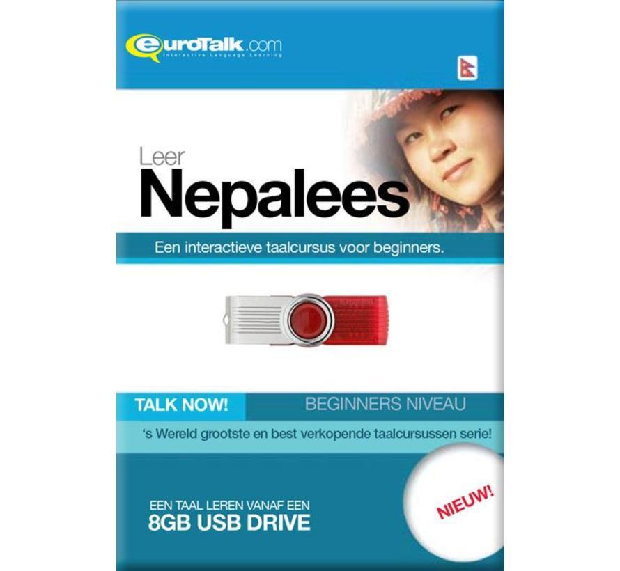 Basis cursus Nepalees Beginners - Talk now Nepalees Leren (USB)