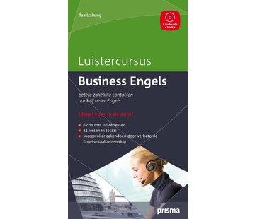 Prisma taalcursussen Luistercursus Business Engels + 6 Audio CD's | Leer zakelijk Engels
