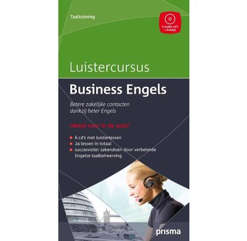 Prisma taalcursussen Luistercursus Business Engels + 6 Audio CD's