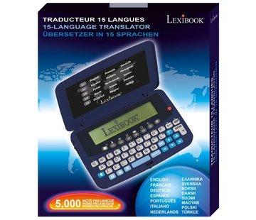 Lexibook Vertaalcomputer Lexibook NTL1570 - Offline vertaalapparaat 15 Talen
